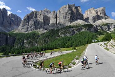 Rennrad Tour Dolomiten Light